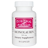 Cardiovascular Research, Ecological Formulas, Monolaurin, 600 mg, 90  Capsules (Discontinued Item)