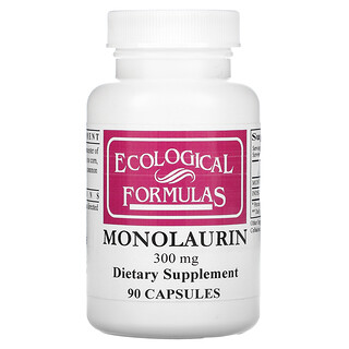 Cardiovascular Research, Monolaurin, 300 mg, 90 Capsules