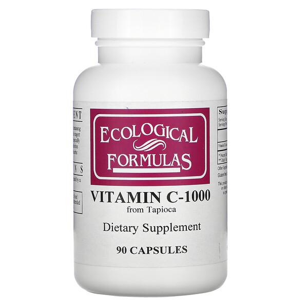Vitamin C-1000, 90 Capsules