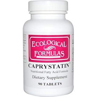 Cardiovascular Research Ltd., Ecological Formulas, Caprystatin, 90 Tablets