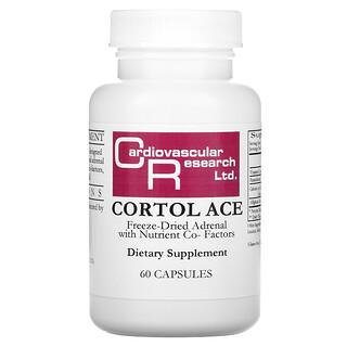 Cardiovascular Research, Cortol Ace, 60 Capsules