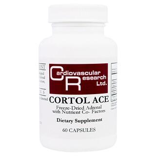 Cardiovascular Research Ltd., Cortol Ace, 60 Capsules