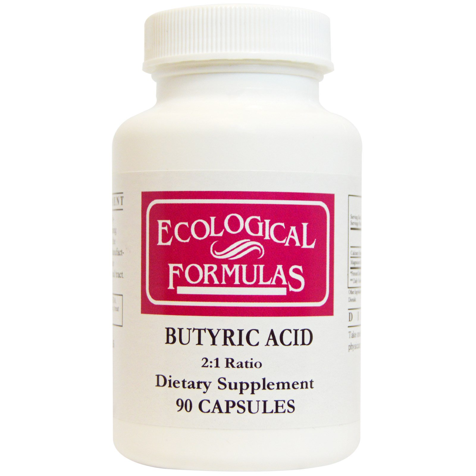 Cardiovascular Research Ltd., Масляная кислота, 90 капсул