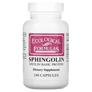 Cardiovascular Research, Sphingolin, 240 Capsules