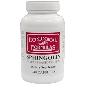Cardiovascular Research Ltd., Sphingolin, Основной белок миелина, 240 капсул