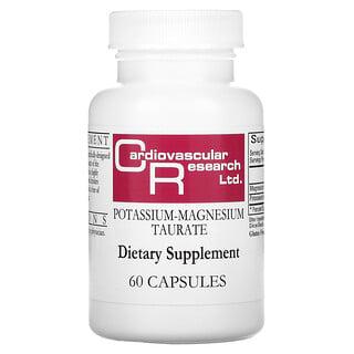 Cardiovascular Research, Potassium-Magnesium Taurate, 60 Capsules