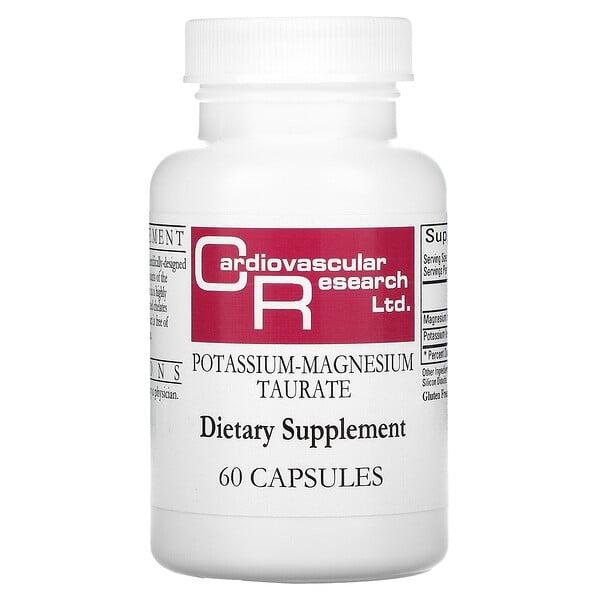 Potassium-Magnesium Taurate, 60 Capsules