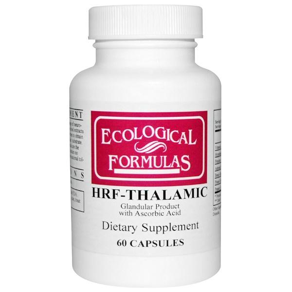 Cardiovascular Research Ltd., Экологические формулы, HRF-таламик 60 капсул (Discontinued Item)