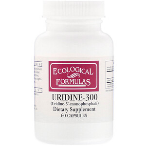 Ecological Formulas, Uridine-300, 60 Capsules отзывы