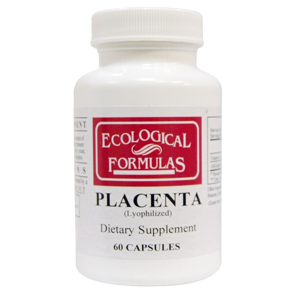 Placenta (Lyophilized), 60 Capsules