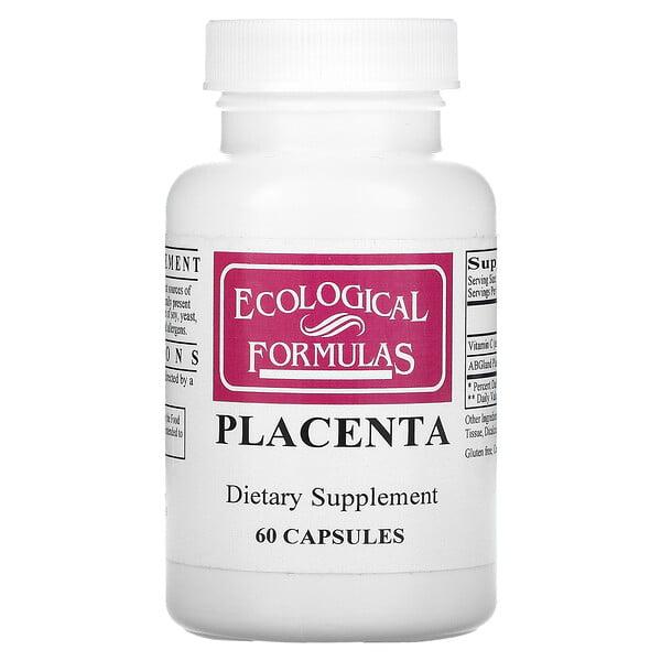 Placenta, 60 Capsules