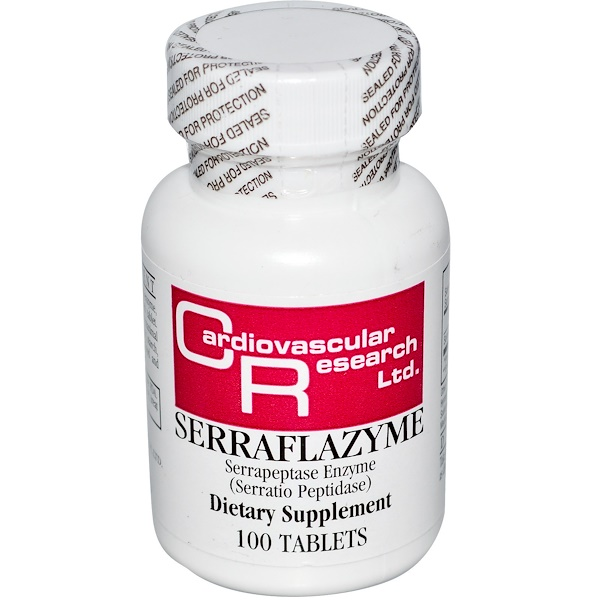 Cardiovascular Research, Serraflazyme, 100 Tablets (Discontinued Item)