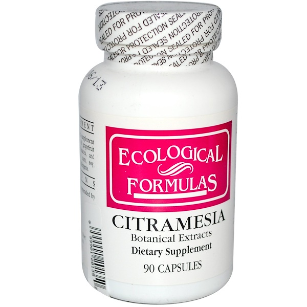 Cardiovascular Research Ltd., Ecological Formulas, Citramesia, Botanical Extracts, 90 Capsules (Discontinued Item)