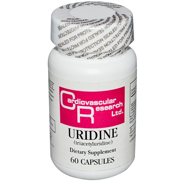 Cardiovascular Research, Uridine, 60 Capsules (Discontinued Item)