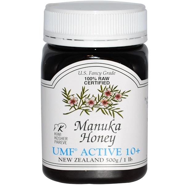 PRI, Manuka Honey, UMF Active 10+, 1 lb (500 g) (Discontinued Item)