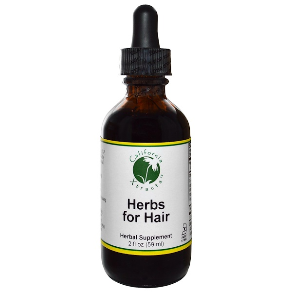 California Xtracts, Herbs for Hair, 2 fl oz (59 ml) (Discontinued Item)