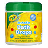 Crayola, Shaker Bath Dropz, 3+, Fragrance-Free, 60 Tablets, 3.59 oz (102 g)