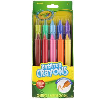 Crayola, Crayola, Bathtub Crayons, 3 & Up, 9 Crayons, + 1 Bonus Crayon