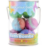 Bath Bombs, Grape Jam, Laser Lemon, Cotton Candy & Bubble Gum Scented , 8 Bath Bombs, 11.29 oz (320 g) - фото