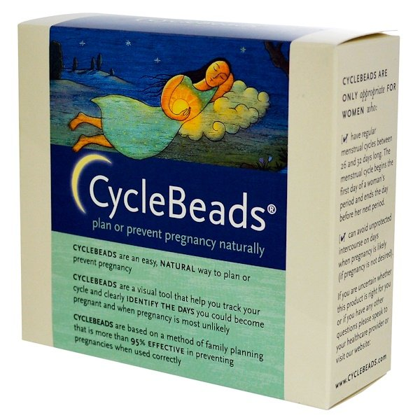 CycleBeads, Plan or Prevent Pregnancy Naturally, 1 Unit (Discontinued Item)