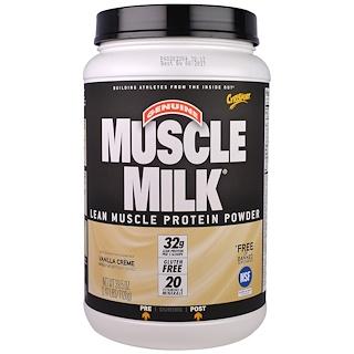 Cytosport, Inc, 제뉴인 머슬 밀크, 순수 근육 단백질 분말, 바닐라 크림, 2.47 lbs (1120 g)