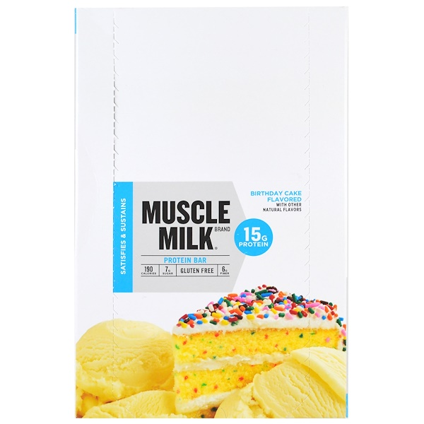 Muscle Milk Birthday Cake Bar Review