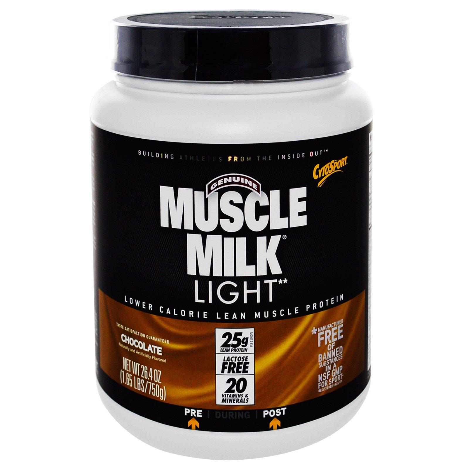 Muscle Milk Light Chocolate  Oz
