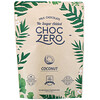 ChocZero, Milk Chocolate Keto Bark, No Sugar Added, Coconut, 6 Bars, 1 oz Each