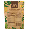 ChocZero, Dark Chocolate With Sea Salt, Keto Bark Peanuts, Sugar Free, 6 Bars, 1 oz Each