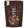 ChocZero, قطع الشيكولاتة الداكنة الخالية من السكر بنسبة كاكاو 70%، 10 قطع، 3.5 أونصة