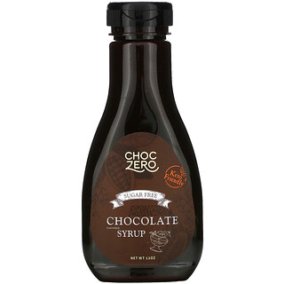ChocZero, Chocolate Syrup, Sugar Free, 12 oz