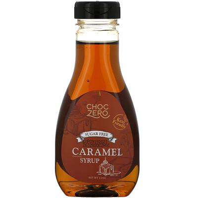ChocZero Caramel Syrup, Sugar Free, 12 oz  - купить со скидкой