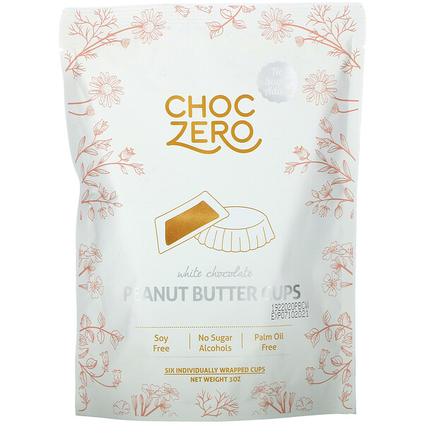 White Chocolate Peanut Butter Cups, 3 oz