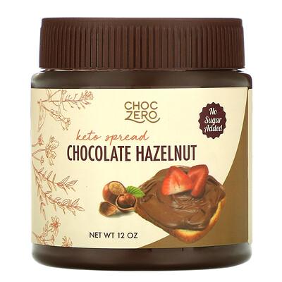 Купить ChocZero Keto Spread, Chocolate Hazelnut, 12 oz