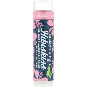 Крэйзи Руморс, HibisKiss, Hibiscus Flavored Lip Color, Pearl, 0.15 oz (4.4 ml) отзывы покупателей