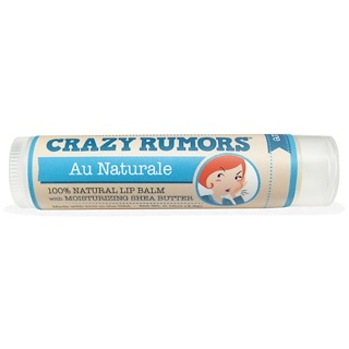 Crazy Rumors, 100% Natural Lip Balm, Au Naturale, 0.15 oz (4.4 ml)