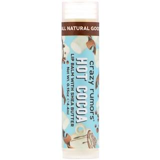 Crazy Rumors, Lip Balm with Shea Butter, Hot Cocoa , 0.15 oz (4.4 ml)
