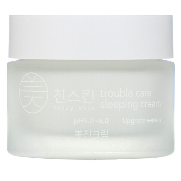 Crazy Skin, Trouble Care Sleeping Cream, 50 g