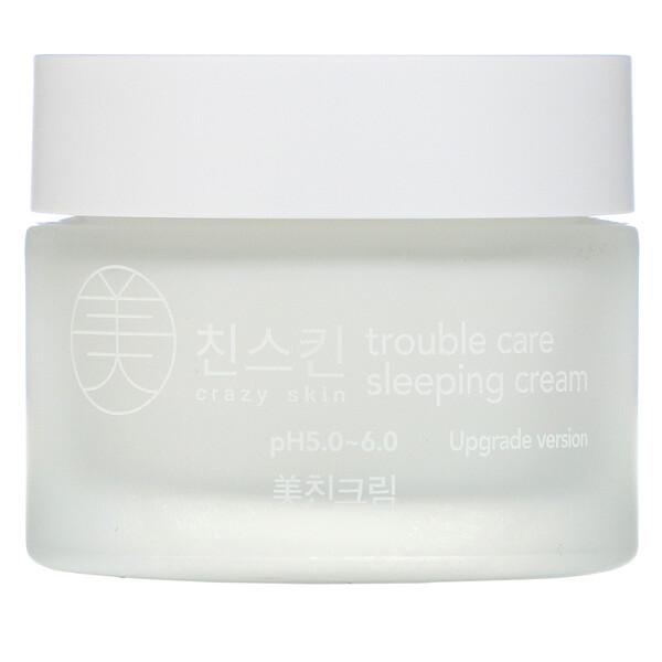 Trouble Care Sleeping Cream, 50 g