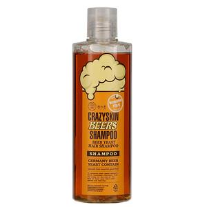 Crazy Skin, Beer Yeast Hair Shampoo, 300 g отзывы