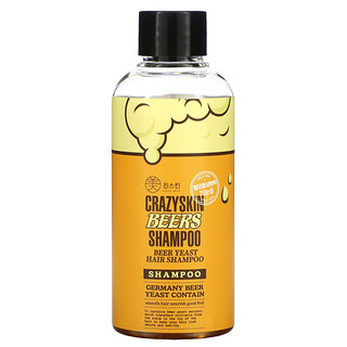 Crazy Skin, Beers Yeast Hair Shampoo, 3.38 fl oz (100 g)