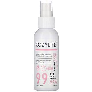 Cozylife, HOCL Ionic Mist Hand Sanitizer, for Baby & Mom, 3.38 fl oz (100 ml)
