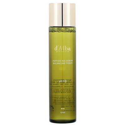 D'Alba Peptide No-Sebum, Balancing Toner, 5.07 fl oz (150 ml)  - купить со скидкой