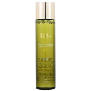d'Alba, Peptide No-Sebum, Balancing Toner, 5.07 fl oz (150 ml) отзывы
