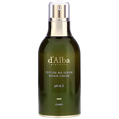 Купить D'Alba Peptide No-Sebum, Repair Cream, 1.69 fl oz (50 ml)