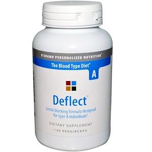Дадамо, Deflect, Lectin Blocking Formula for Blood Type A, 120 Veggie Caps отзывы