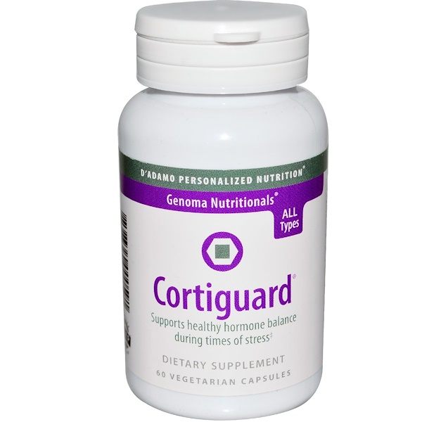 D'adamo, Genoma Nutritionals, Cortiguard, 60 Veggie Caps (Discontinued Item)