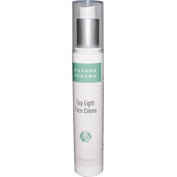 D'adamo, Genoma, Day Light Face Cream, 1.67 fl oz (49 ml) (Discontinued Item)