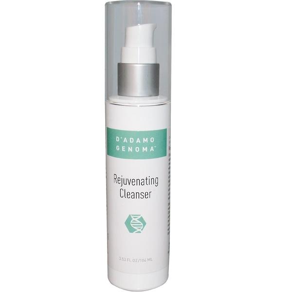 D'adamo, Genoma, Rejuvenating Cleanser, 3.53 fl oz (104 ml) (Discontinued Item)