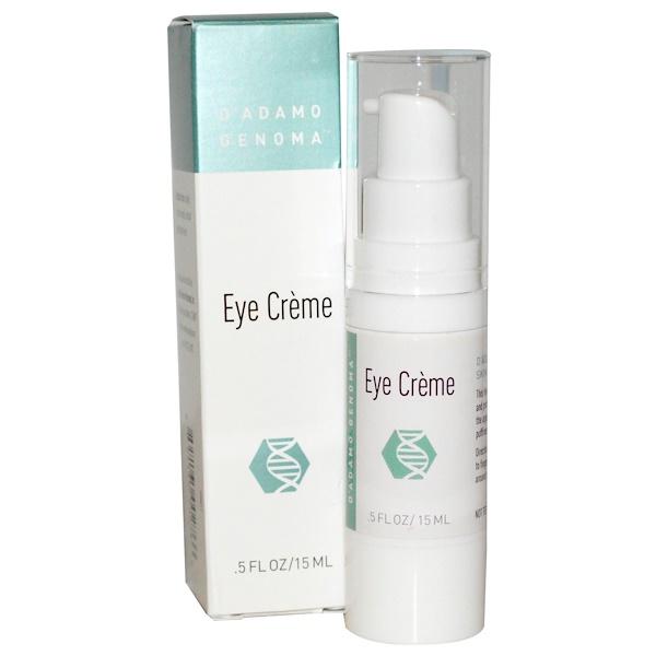 D'adamo, Eye Cream, .5 fl oz (15 ml) (Discontinued Item)